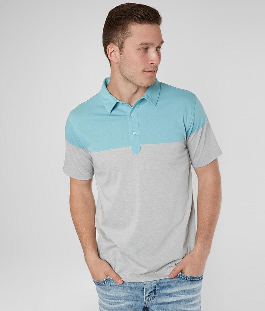 Linksoul Color Blocked Polo front view