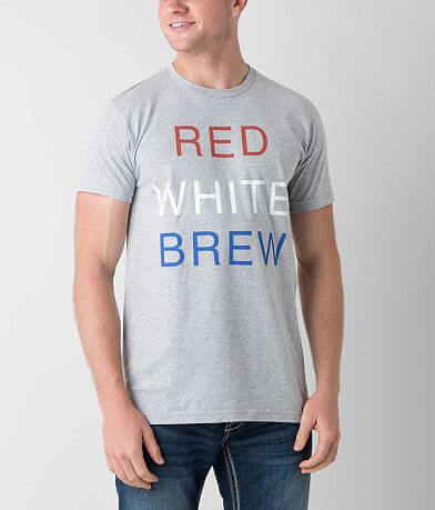 Junk Food Red White Brew T-Shirt