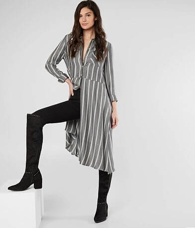 Lira Avery Striped Tunic Blouse