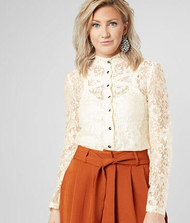 Lira Jane Lace Blouse