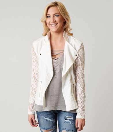 Daytrip Pieced Lace Jacket
