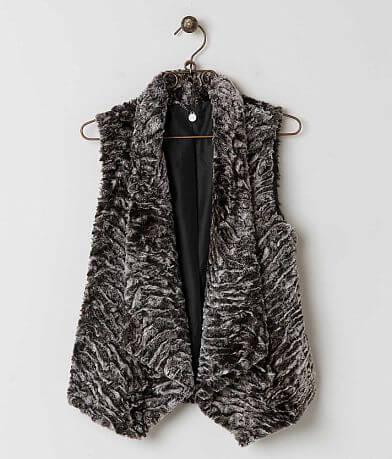BKE Boutique Faux Fur Vest