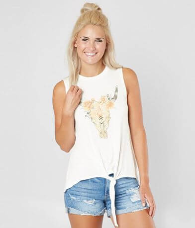 Daytrip Skull Tank Top