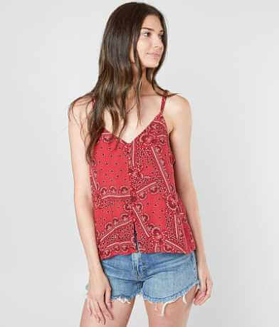Daytrip Strappy Floral Tank Top