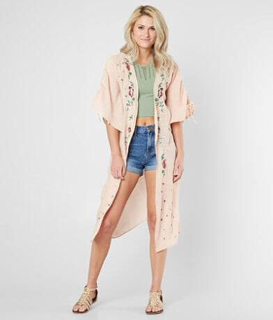 Daytrip Floral Embroidered Cardigan