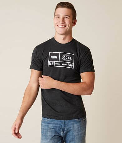 Locally Grown Nebraska Support Local T-Shirt