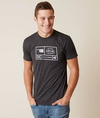 Locally Grown Oklahoma Support Local T-Shirt