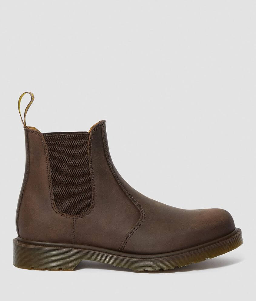 Dr. Martens 2976 Crazy Horse Leather Chelsea Boot front view