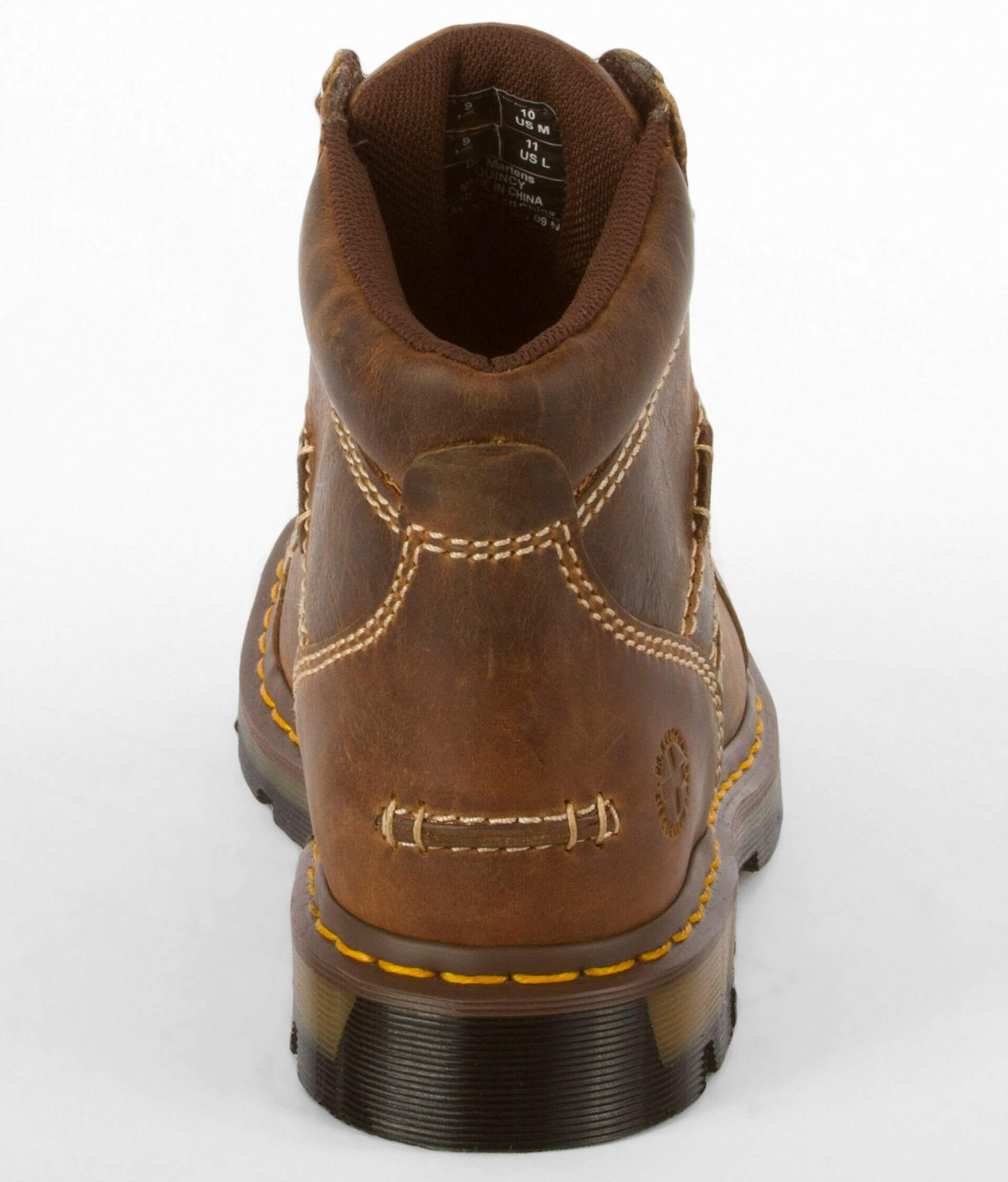e3baf814149 Dr. Martens Quincy Leather Boot - Men's Shoes in Tan Greenland | Buckle