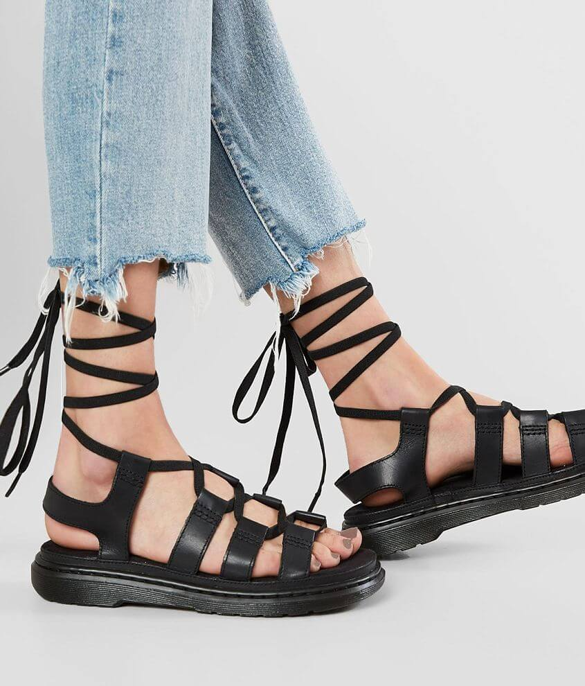 2a50bd89af1 Dr. Martens Kristina Leather Gladiator Sandal - Women s Shoes in ...
