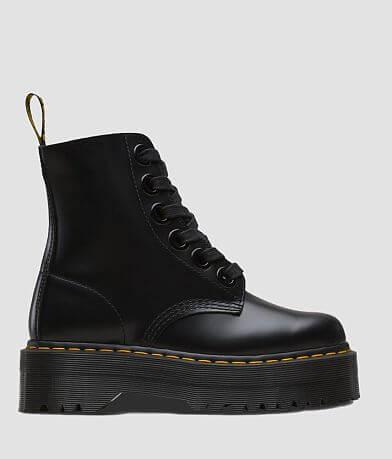 Dr. Martens Molly Leather Platform Boot