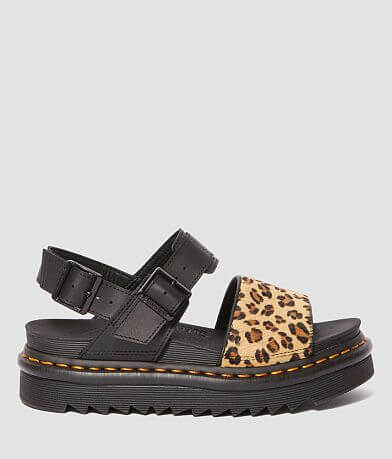 Dr. Martens Voss Leopard Leather Sandal