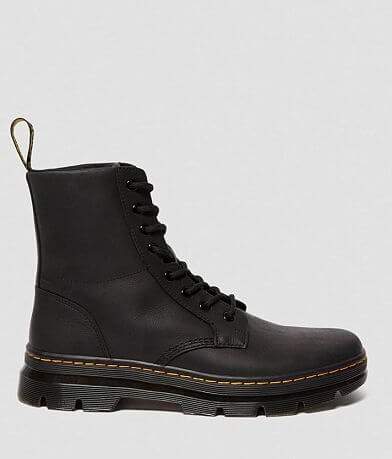 Dr. Martens Combs Leather Combat Boot