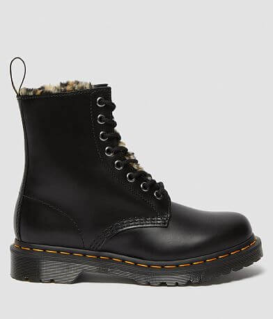 Dr. Martens 1460 Serena Fluff Leather Boot