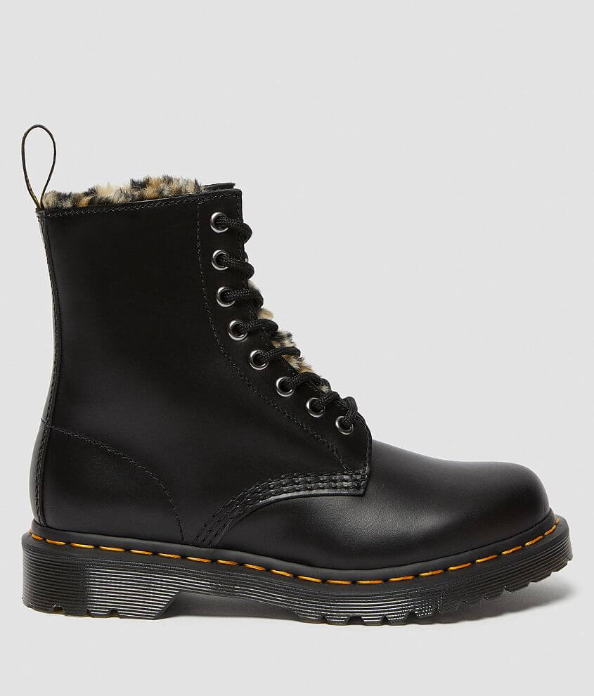 Dr. Martens 1460 Serena Fluff Leather Boot front view