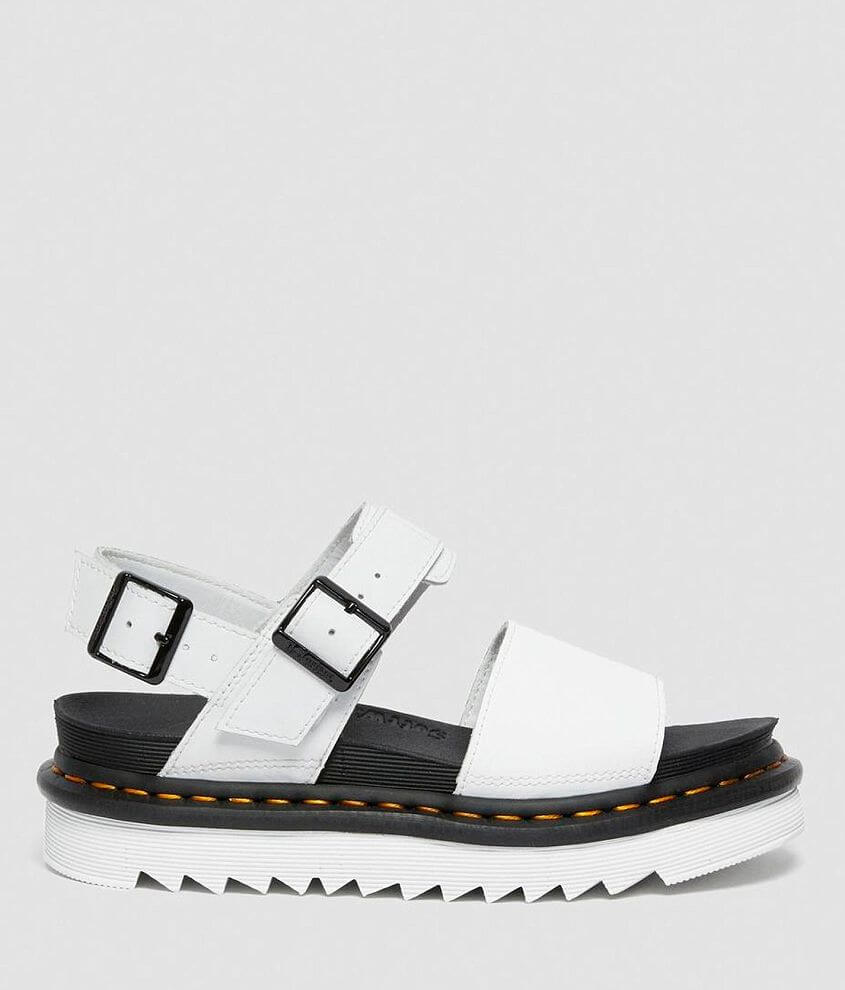 Dr. Martens Voss Hydro Leather Flatform Sandal front view