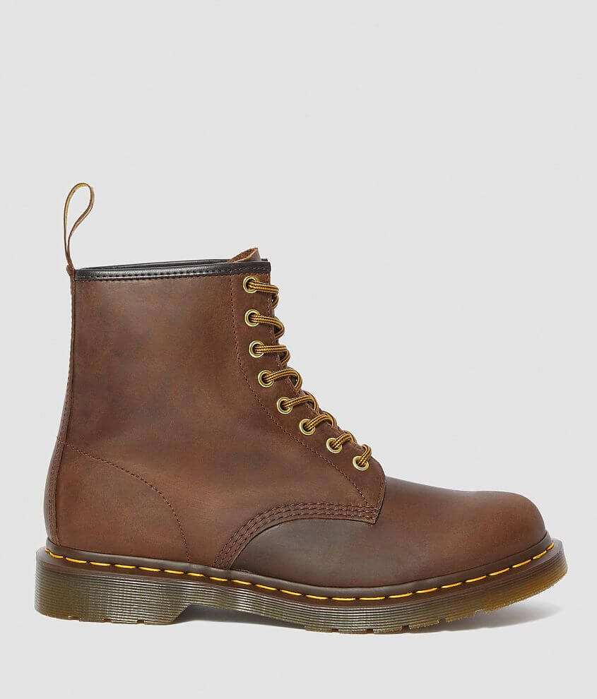 Dr. Martens Aztec Crazy Horse Leather Boot front view