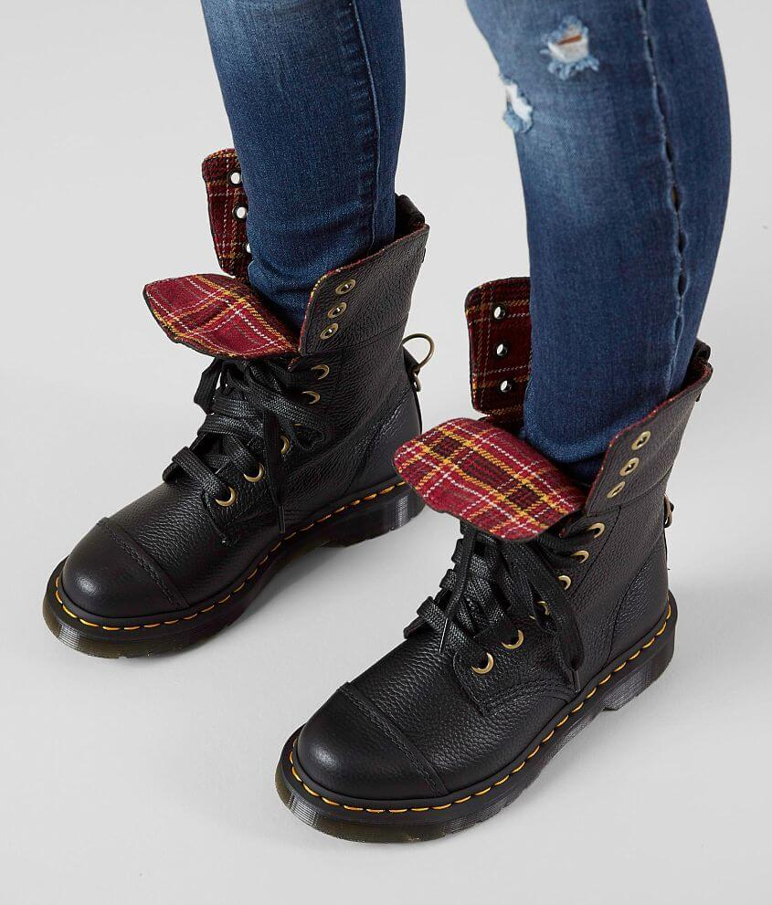 Dr. Martens Aimilita Aunt Sally Leather Boot - Women s Shoes in ... 798ab467bc51