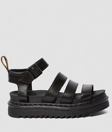 Dr. Martens Blaire Flatform Leather Sandal