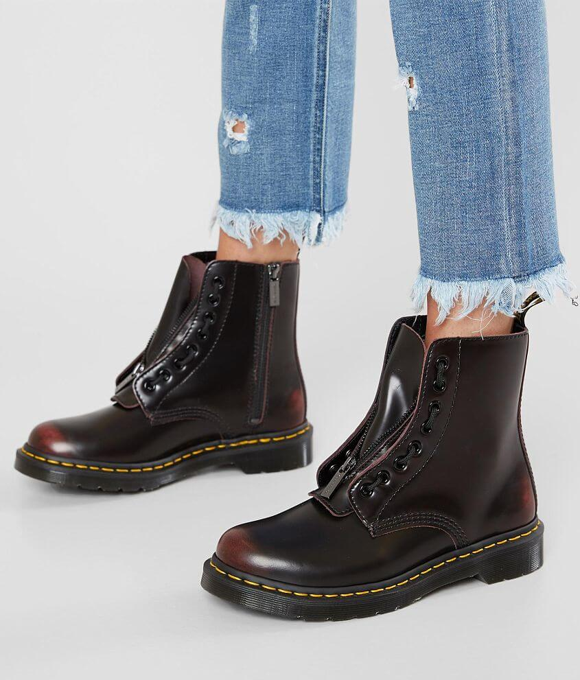 78be96eedf7 Dr. Martens 1460 Pascal Leather Boot - Women's Shoes in Cherry Red ...