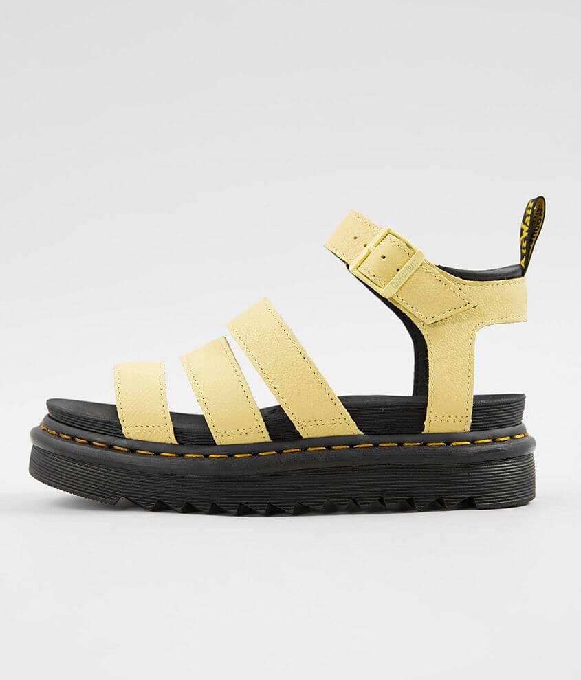 3db0220e12c5 Dr. Martens Blaire Chunky Leather Wedge Sandal - Women's Shoes in ...