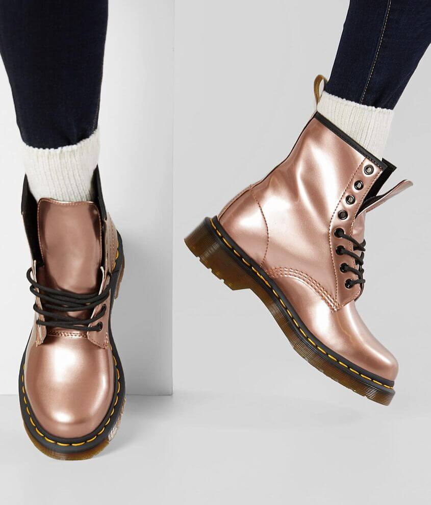 48912551dc Dr. Martens Vegan Leather 1460 Boot - Women's Shoes in Rose Gold ...