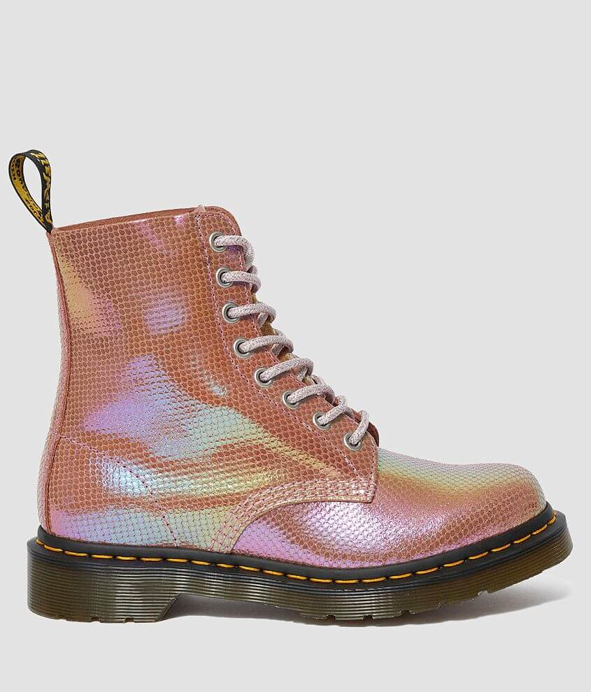 Dr. Martens 1460 Pascal Iridescent Leather Boot front view