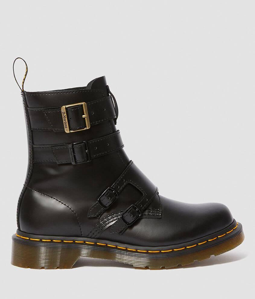 intera collezione vendita calda reale migliore selezione di Dr. Martens Blake II Buttero Leather Boot - Women's Shoes in Black ...