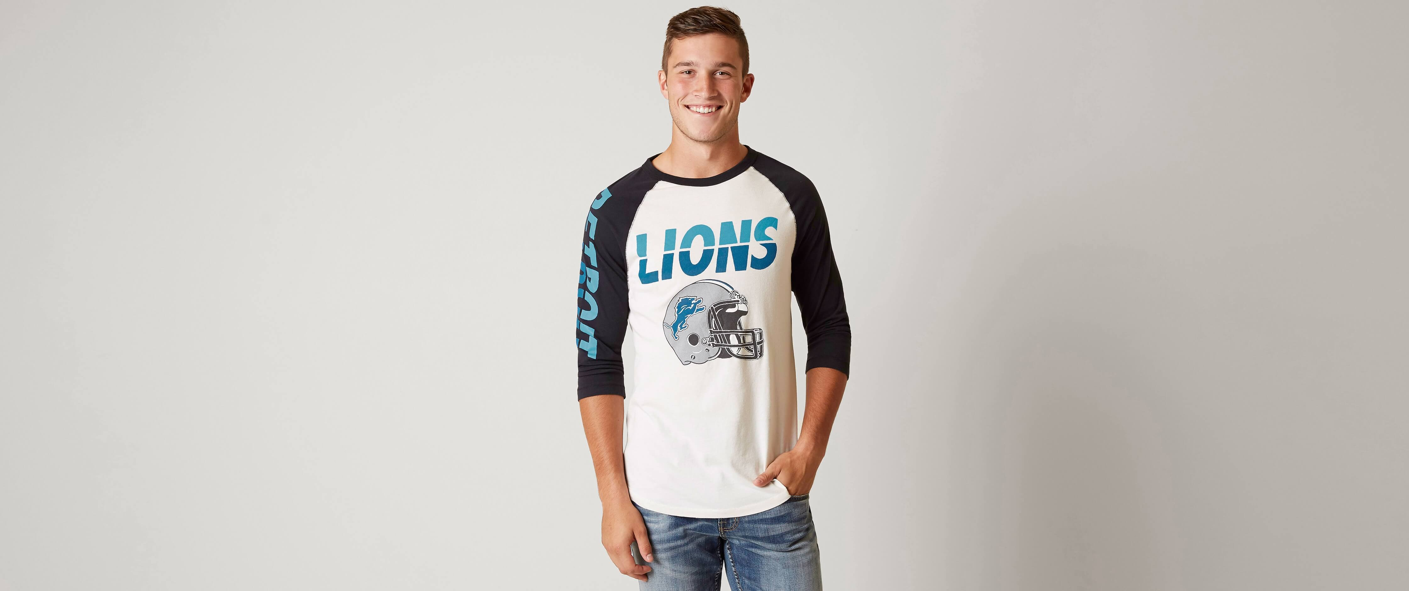 detroit lions men's shirts