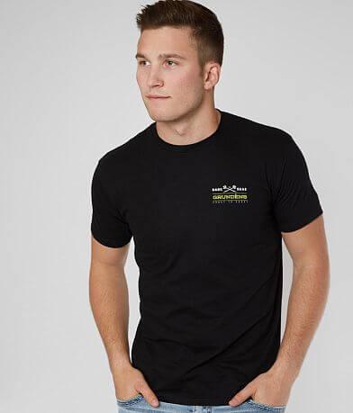 Dark Seas Grundens Mahi Mahi Angler T-Shirt