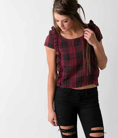 Sea Gypsies Plaid Top