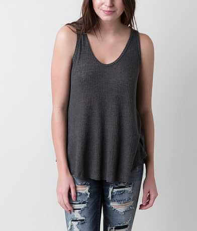BKE core Raw Edge Tank Top