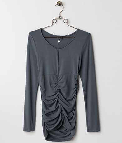 BKE Boutique Ruched Top