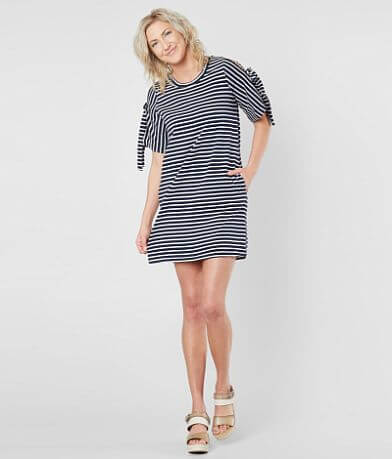 Loveriche Cold Shoulder Dress