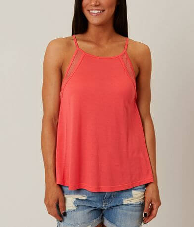 Loveriche High Neck Tank Top