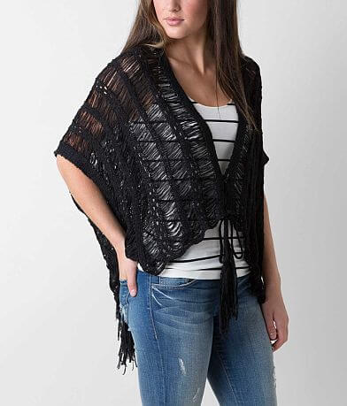 Daytrip Tape Yarn Poncho