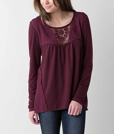 Love on Tap Embroidered Top