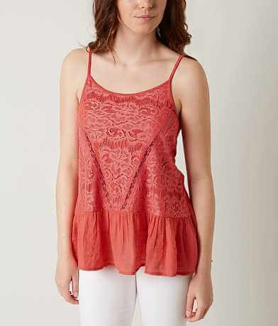 Love on Tap Lace Tank Top