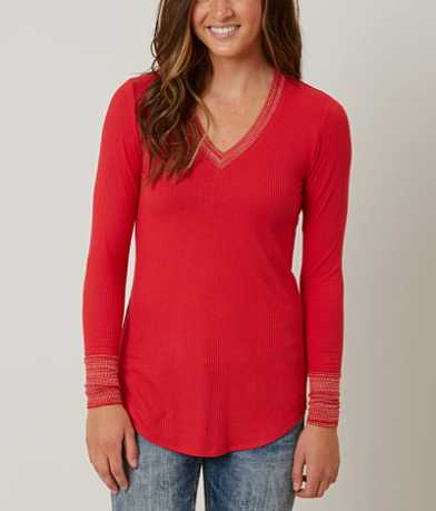 Love On Tap Ribbed Top
