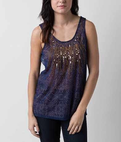 Love on Tap Embellished Tank Top