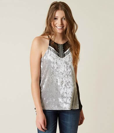 Daytrip High Neck Tank Top