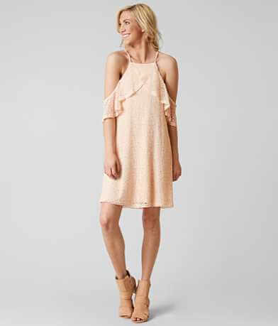Paper Crane Cold Shoulder Dress