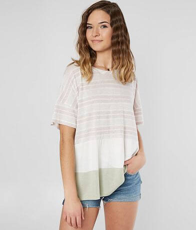 Lazy Sundays Color Block Top