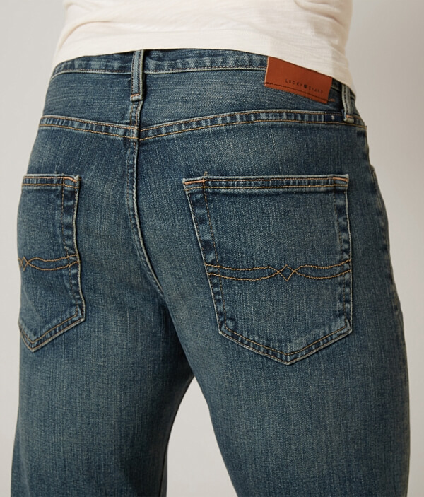 Jean Athletic Brand Stretch Lucky Straight wqI745