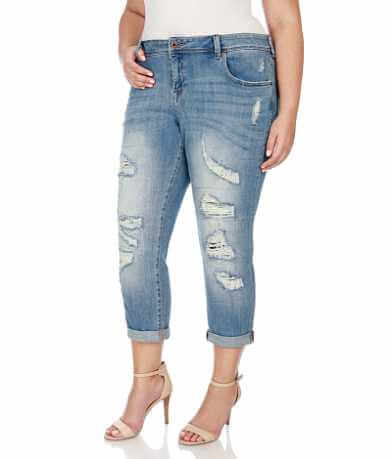 Lucky Brand Reese Boyfriend Jean - Plus Size Only