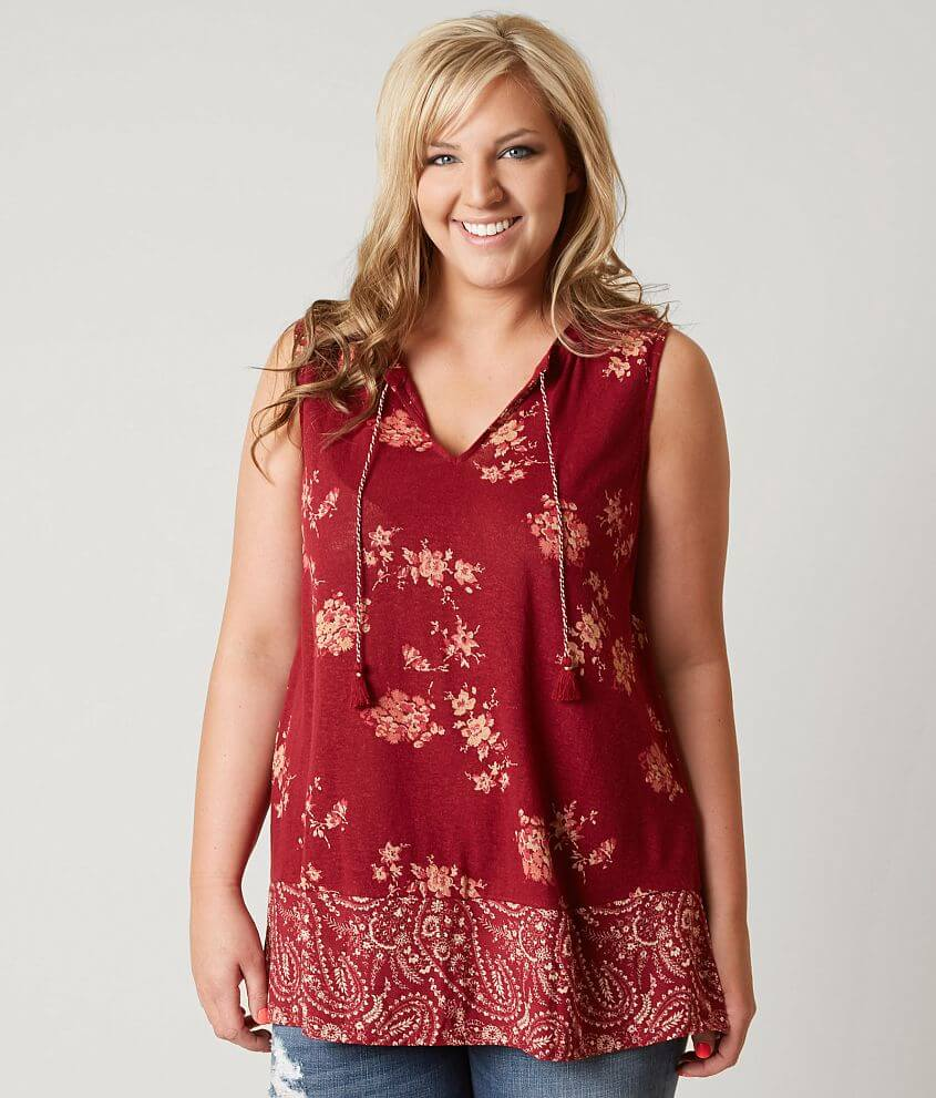ef16eaf5acb Lucky Brand Floral Tank Top - Plus Size Only - Women s Tank Tops in ...