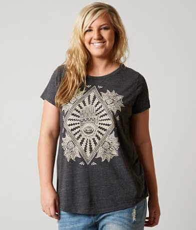 Lucky Brand Spiritual T-Shirt - Plus Size Only