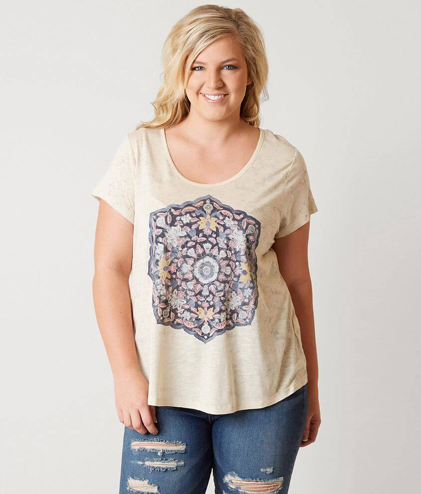 b36bcaae9ca Lucky Brand Mandala T-Shirt - Plus Size Only - Women's T-Shirts in ...