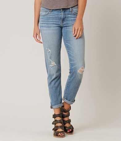 Lucky Brand Sienna Boyfriend Stretch Cropped Jean