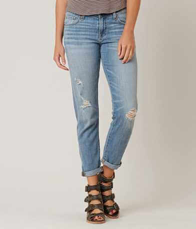 Lucky Brand Sienna Boyfriend Stretch Cropped Jean